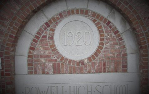 This sign, which now sits in the Homesteader Museum, for many years greeted students as they entered PHS.