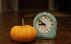 Time was key for students this Halloween as they knew that they had school the next morning and couldn't stay up as late as they might have liked.