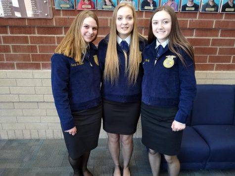 SUCCESS FOR POWELL-SHOSHONE FFA