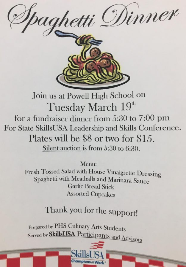 The+Skills+USA+dinner+will+be+on+Tuesday+March+19.+The+fundraiser+will+be+from+5%3A30+to+7+p.m.