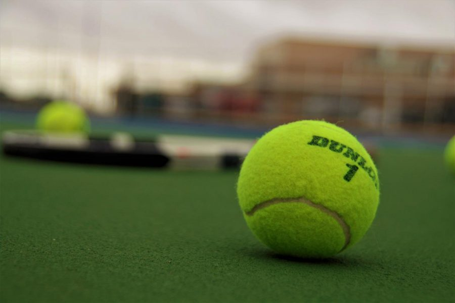 Spring+tennis+at+PHS+has+drawn+a+record+number+of+eighth-graders+this+year.
