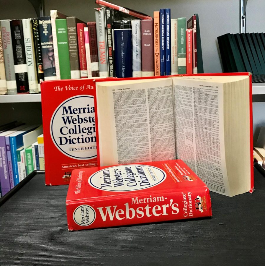 The+newest+addition+of+the+Webster%27s+dictionary+included+slang+words.