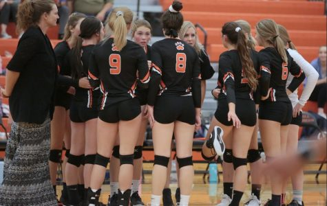 VOLLEYBALL TEAM FINDS JOY ON COURT