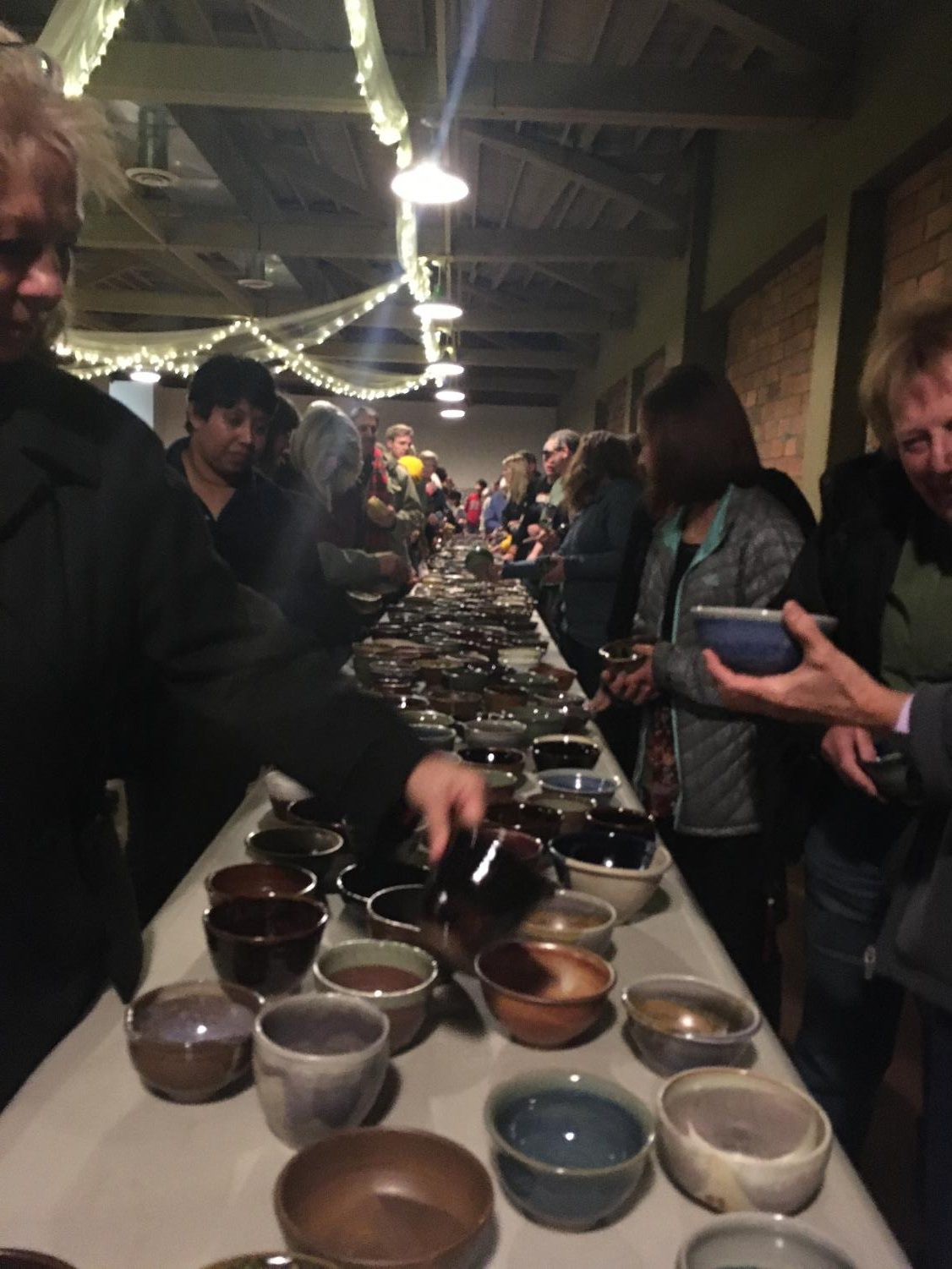 Empty+Bowls+attracted+a+large+crowd+of+people+Nov.+19.