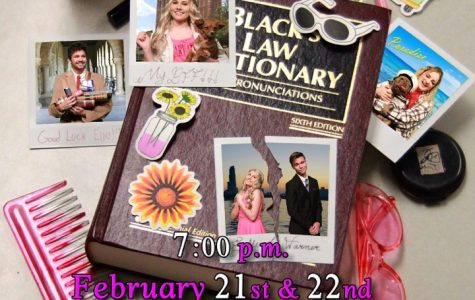 """The performance, """"Legally Blonde"""" will take place on Friday-Saturday, Feb. 21-22 at 7 p.m. in the PHS auditorium."""