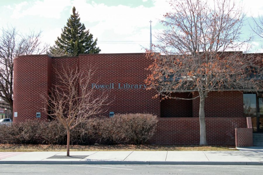 """Though the Park County Library is closed because of the COVID-19 virus, the Powell branch is still offering a """"pickup"""" service to the public."""