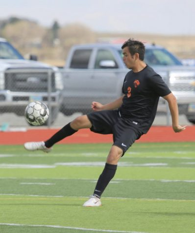 Senior Ernesto Acevedo will be pursuing soccer next year at Northwest College.