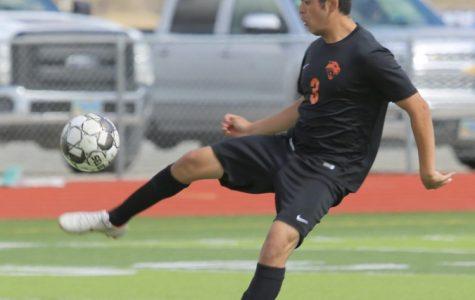 Senior Ernesto Acevedo will be pursuing soccer next year at Northwest College.