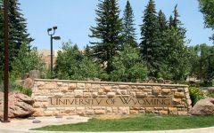 University of Wyoming Entrance Sign.