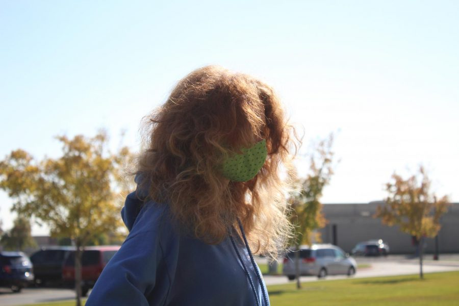 PHS Prowl reporter Lucyjane Crimm, a natural ginger, showing off her ginger locks glowing in the sun.