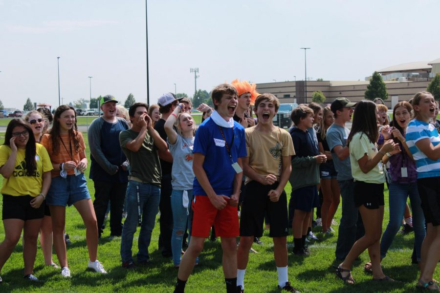 The freshmen participated in Ignition activities despite the new rules put in place.