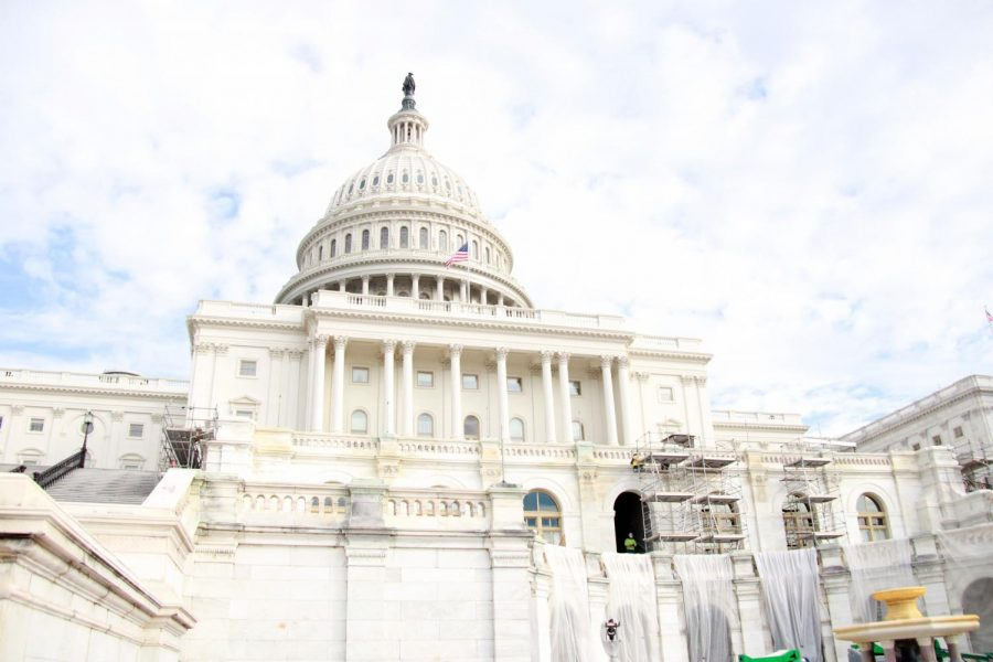 The U.S. Capitol during the Prowl's trip to nationals in Nov. 2019.