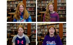 (clockwise from top left) Baylee Brence, Emma Brence, Kathryn Brence and Charlee Brence.