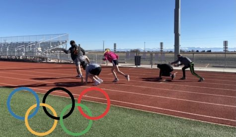 PHS students play LeapFrog on the track outside. LeapFrog placed 8 on the list.