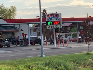 Gas prices across the U.S are reaching record highs in the year of 2021.