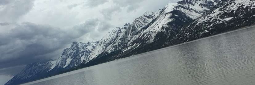 One of Wyoming's most visited tourist locations, The Grand Tetons, is pictured outside of Jackson Wyoming.
