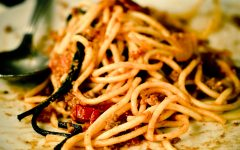 Spaghetti. the classic dish that is taking the hip hop world by storm.